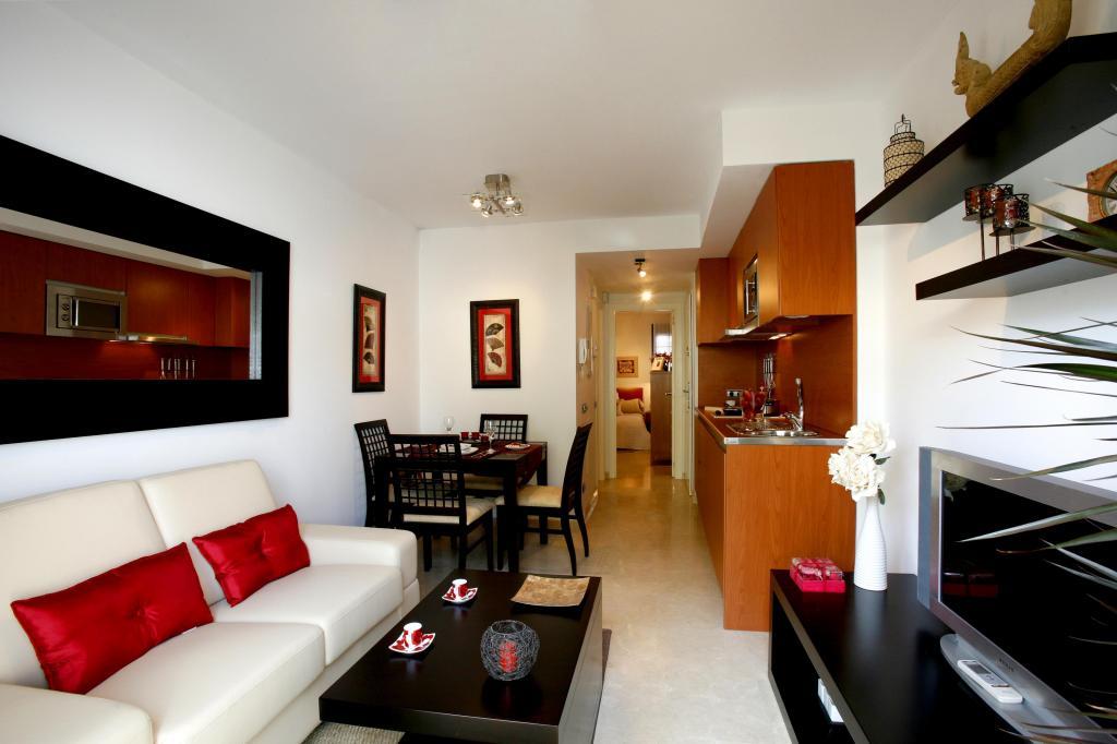 Alquiler apartamento apartamento los patos apartamento en for Apartamentos modernos decorados
